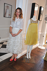 ALICE TEMPERLEY at the Frocks and Rocks party hosted by Alice Temperley and Jade Jagger at Temperley, Bruton Street, London on 25th April 2013.