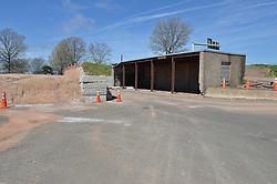 Construction Progress Photgraph, Sea Street Salt Storage Facility, New Haven. Pre-Construction Documentation.