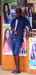 EXCLUSIVE: Rihanna's own uncle has been charged with selling 'knocked-off' goods from his famous niece's Puma clothing line in the star's home nation of Barbados. Leroy Fitzgerald Brathwaite, 53, a Bajun artist who uses the stage name, De Warrior, has denied the charges, filed under the Fair Trading Commission's (FTC) Consumer Protection Act. Police say Rihanna herself noticed the knock-offs of her hugely popular Puma brand being sold in a store in the island's capital Bridgetown when she last visited the island. She reported the matter to her Puma representative, who flew into the island and filed a police complaint. But Brathwaite's defence attorney is contending that the charges were improperly laid and should be dismissed. 22 Nov 2017 Pictured: Rihanna's uncle 53 year old Leroy Fitzgerald Brathwaite has been charged for selling knocked-off from his niece Puma line. Photo credit: MEGA TheMegaAgency.com +1 888 505 6342