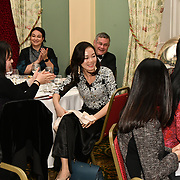 Mei Sim Lai OBE, DL Chair - Mulan Foundation Network hosts Mulan Awards Dinner for the Chinese business women at Oriental Club  on 8th December 2018, London, UK.