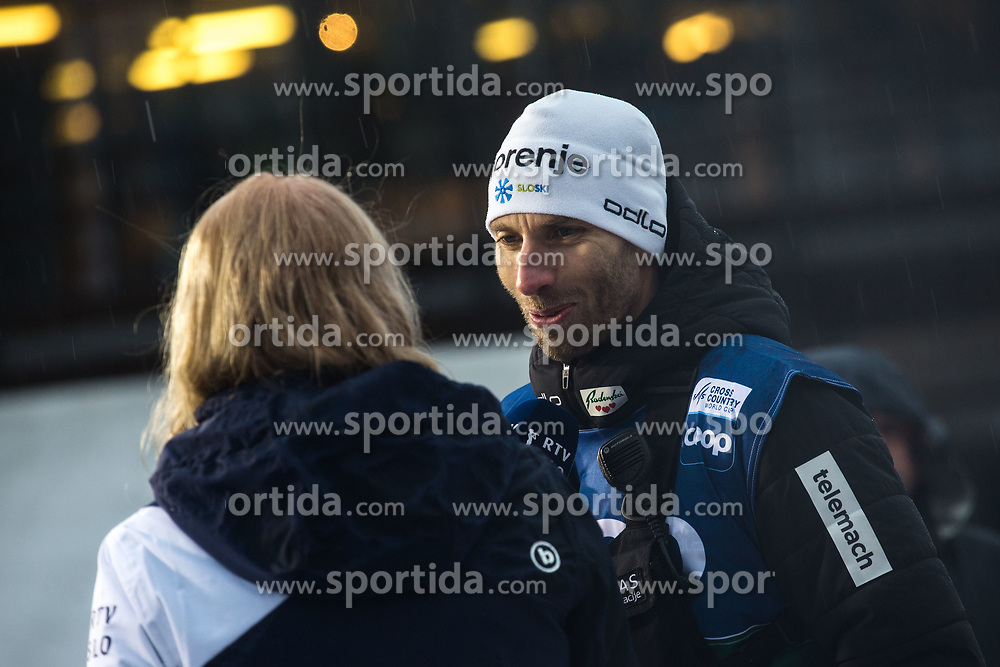 Coach of Slovenia BRODAR Nejc (SLO) after the Ladies sprint free race at FIS Cross Country World Cup Planica 2019, on December 21, 2019 at Planica, Slovenia. Photo By Peter Podobnik / Sportida