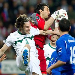 20110325: SLO, Football - EURO 2012 Qualifications match, Slovenia vs Italy