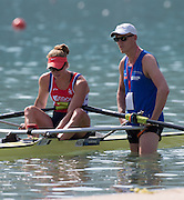 Aiguebelette, FRANCE. NED W1X. Chantel ACTERBURG. 10:19:04  Sunday  22/06/2014. [Mandatory Credit; Peter Spurrier/Intersport-images]