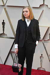 February 24, 2019 - Los Angeles, California, U.S - ELSIE FISHER during red carpet arrivals for the 91st Academy Awards, presented by the Academy of Motion Picture Arts and Sciences (AMPAS), at the Dolby Theatre in Hollywood. (Credit Image: © Kevin Sullivan via ZUMA Wire)