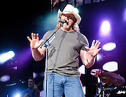 BRISTOW, VA - SEPTEMBER 11th, 2010: Trace Adkins opens for Toby Keith at Jiffy Lube Live as part of Keith's American Ride tour.  (Photo by Kyle Gustafson/For The Washington Post)