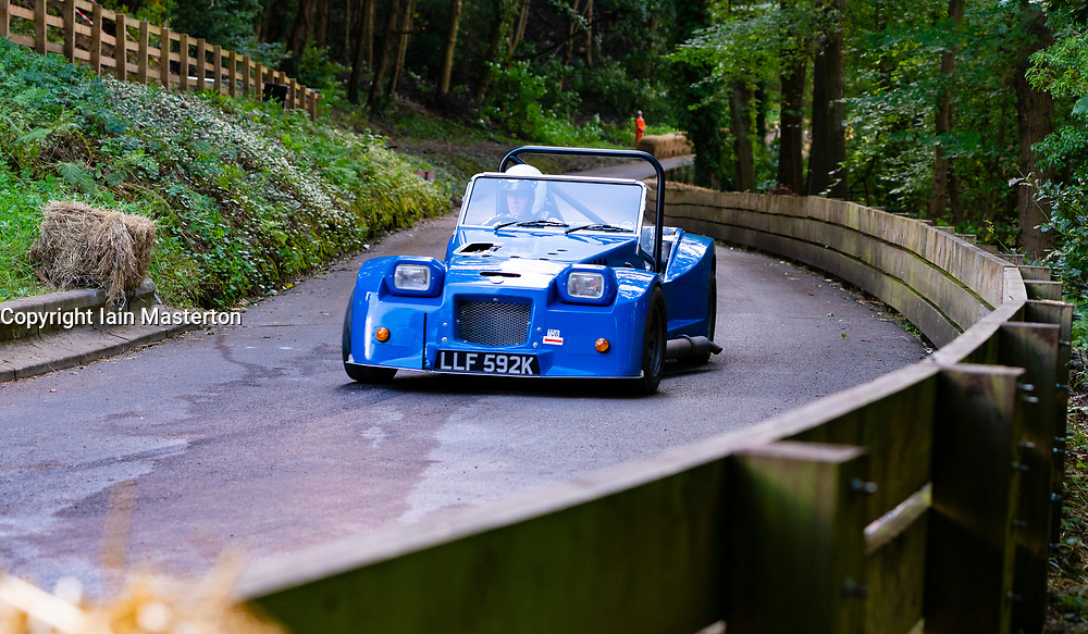 Boness Revival hillclimb motorsport event in Boness, Scotland, UK. The 2019 Bo'ness Revival Classic and Hillclimb, Scotland's first purpose-built motorsport venue, it marked 60 years since double Formula 1 World Champion Jim Clark competed here.  It took place Saturday 31 August and Sunday 1 September 2019. 39 Alisdair Suttie Sylva Leader