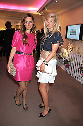 Left to right, the HON.MARY FELLOWES and jewellery designer PHILIPPA HOLLAND at the annual Sotheby's Summer Party held at their auction rooms 34-35 New Bond Street, London W1 on 19th June 2008.<br /><br />NON EXCLUSIVE - WORLD RIGHTS