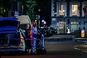 A man has died of stab wounds in Islington, North London on Monday, Sept 14, 2020. Police have launched an investigation after they attended North Road N7 around 8 pm and found a male, thought to be a teen, with stab wounds. (VXP Photo/ Vudi Xhymshiti)