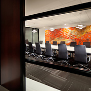 Interior of Radoslovich Krogh Law Offices Office infrastructure- architectural and Interior Photography example of Chip Allen's work.