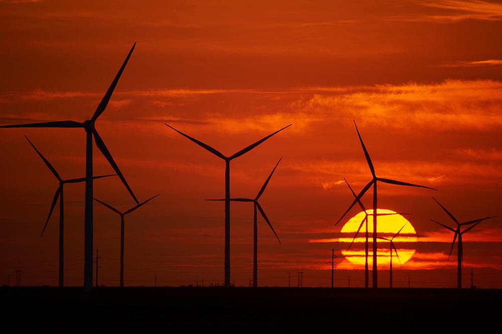 Duke Energy Wind Farm Los Vientos, Texas