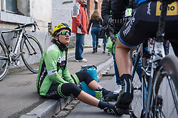 Valentina Scandolara talks through how the race played out - Le Samyn des Dames 2016, a 113km road race from Quaregnon to Dour, on March 2, 2016 in Hainaut, Belgium.