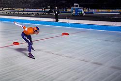 09-03-2018 NED: WK Schaatsen Allround, Amsterdam<br /> Annouk van der Weijden NED