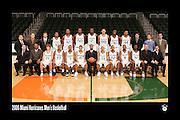 2006 Miami Hurricanes Men's Basketball Team Photo