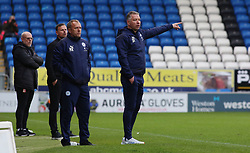 Peterborough United Manager Darren Ferguson issues instructions from the touchline - Mandatory by-line: Joe Dent/JMP - 03/10/2020 - FOOTBALL - Weston Homes Stadium - Peterborough, England - Peterborough United v Swindon Town - Sky Bet League One