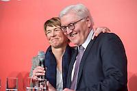 11 FEB 2017, BERLIN/GERMANY:<br /> Elke Buedenbender (L), Ehefrau von Steinmeier, und Frank-Walter Steinmeier (R), SPD, Kandidat fuer das Amt des Bundespraesidenten, waehrend einem Empfang der SPD anl. der Bundesversammlung, Westhafen Event und Convention Center<br />  IMAGE: 20170211-03-056<br /> KWYWORDS: Elke Büdenbender