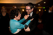 Imelda Staunton; Alexi Kaye Campbell; The Laurence Olivier Awards, The Grosvenor House Hotel. Park Lane. London. 8 March 2009 *** Local Caption *** -DO NOT ARCHIVE -Copyright Photograph by Dafydd Jones. 248 Clapham Rd. London SW9 0PZ. Tel 0207 820 0771. www.dafjones.com<br /> Imelda Staunton; Alexi Kaye Campbell; The Laurence Olivier Awards, The Grosvenor House Hotel. Park Lane. London. 8 March 2009