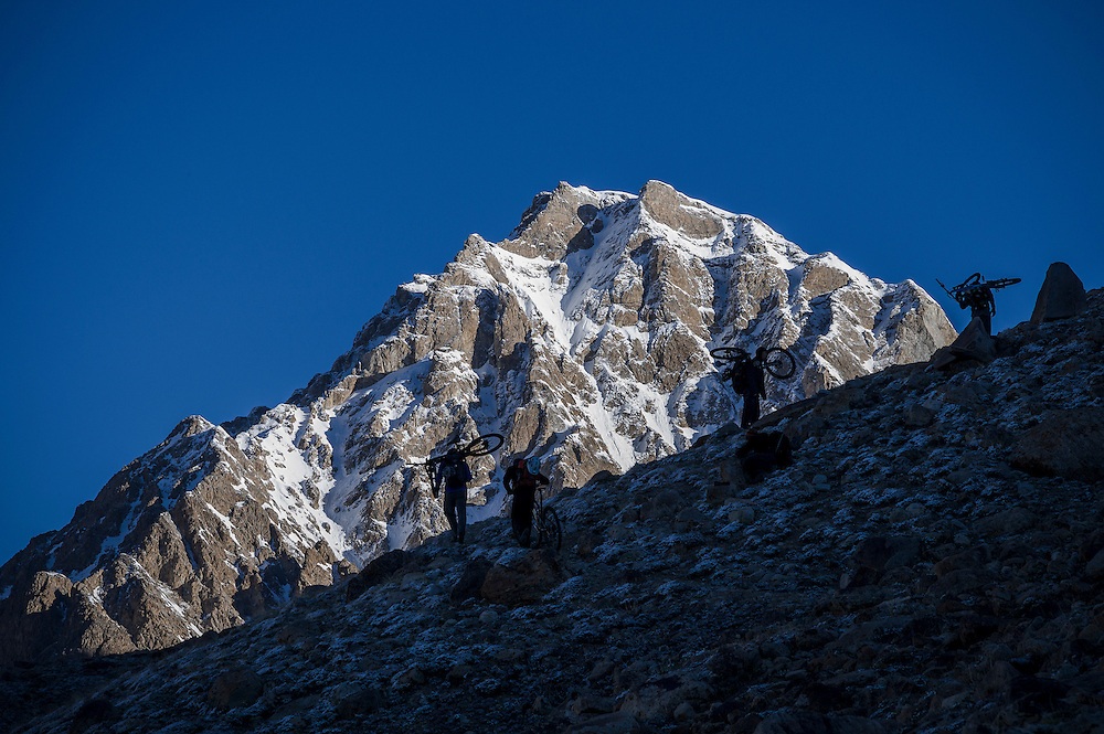 Climbing the 3rd of our 5000m passes, Wakhan Corridor, Afghanistan.