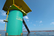 20-Year-Old Inventor's Idea For How To Make Ocean Clean Itself Will Be Launched In Japan<br /> <br /> Boyan Slat, a 20-year-old innovator in the Netherlands, has a lot on his plate – he's set out to do nothing less than rid the oceans of the millions of tons of plastic garbage that circle along their currents. And judging by the support that has rallied behind his novel approach to the problem, there's a good chance he just might succeed.<br /> The massive rotating currents in the world's oceans make collecting or even monitoring garbage difficult, but Slat's Ocean Cleanup Foundation is developing a way to use those currents to its advantage. Slat envisions long-distance arrays of floats that would skim garbage from the surface while allowing aquatic life and the currents themselves to pass by underneath. The company estimates that a 100km stationary cleanup array could remove 42% of the Great Pacific Garbage Patch over 10 years, representing a total of 70,320,000kg of plastic waste. For now, they're installing a 2,000m trial system in Japan, which will become the longest floating structure in the world when completed.<br /> The 2,000m floating line will become the longest floating structure in the world when it's deployed in 2016, It is the first stage in 20-year-old Boyan Slat's plan to rid the oceans of floating plastic waste, The plan involves targeting rotating ocean currents full of waste and skimming the trash from them, His goal is to eventually build a 100km floating array that could collect 70,320,000kg of plastic waste over 10 years, Slat estimates that this method would cost roughly 4.53 euros (5.04 USD) per kilogram, which is only 3% of the cost of other potential clean-up methods<br /> ©theoceancleanup/Exclusivepix Media