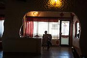Arcelor Mittal. Omarska Mine near Prijedor.<br /> Hotel restaurant in Omarska.<br /> <br /> Matt Lutton / Boreal Collective for the Financial Times.