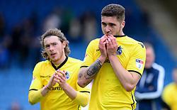 Ryan Sweeney of Bristol Rovers looks dejected.  - Mandatory by-line: Alex James/JMP - 14/04/2017 - FOOTBALL - MEMS Priestfield Stadium - Gillingham, England - Gillingham v Bristol Rovers - Sky Bet League One