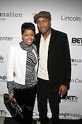 l to r: Malinda Willams and D-Nice at The ImageNation celebration for the 20th Anniversary of ' Do the Right Thing' held Lincoln Center Walter Reade Theater on February 26, 2009 in New York City. ..Founded in 1997 by Moikgantsi Kgama, who shares executive duties with her husband, Event Producer Gregory Gates, ImageNation distinguishes itself by screening works that highlight and empower people from the African Diaspora.