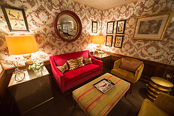 Stobo Castle has just spent over £100,000 creating the most luxurious ladies loos which even feature toilets with wash and blow dry facilities, believed to be a first in Scotland. Sofa's in the waiting area.