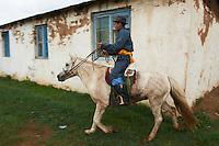 Mongolie, province de Ovorkhangai, Burd, la fete du Naadam // Mongolia, Ovorkhangai province, Burd, the Naadam festival