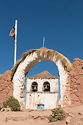 Church of Machuca Village, Located near the Tatio Geysers, Atacama Desert, Chile, South America