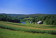 Northcentral Pennsylvania, US Route #6, Tioga County Farm