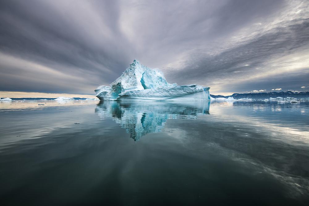 Icebergs of Disco Bay, Greenland