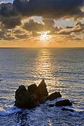 Sunset near Slide Ranch, Golden Gate National Recreation Area, California