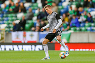 Germany midfielder Toni Kroos (8) warms up during the UEFA European 2020 Qualifier match between Northern Ireland and Germany at National Football Stadium, Windsor Park, Northern Ireland on 9 September 2019.