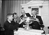 1988 - Replica Sam Maguire Cup Assayed.   (R85).