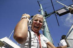 July 29, 2018 - Budapest, Hungary - Motorsports: FIA Formula One World Championship 2018, Grand Prix of Hungary, ..Angela Cullen  (Credit Image: © Hoch Zwei via ZUMA Wire)
