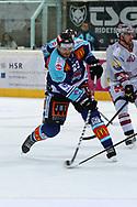 08.Maerz 2012; Rapperswil-Jona; Eishockey NLA - Rapperswil-Jona Lakers - Geneve-Servette HC;<br />  Pavel Brendl (LAK) (Thomas Oswald)