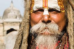 Aug. 22, 2012 - Nepali hindu sadhu (Credit Image: © Image Source/ZUMAPRESS.com)