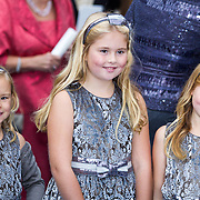 NLD/Apeldoorn/20130105 - Huwelijk prins Jaime en prinses Viktoria Cservenyak, kroonprinses Prinses Catharina-Amalia, Prinses Alexia, Ariane