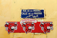 Maroc, Tanger, rue de la Marine, Medina // Morocco, Tangier (Tanger), Marine street, old city
