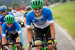 Luka Cotar (SLO) of Slovenija National Team during Stage 3 of 24th Tour of Slovenia 2017 / Tour de Slovenie from Celje to Rogla (167,7 km) cycling race on June 16, 2017 in Slovenia. Photo by Vid Ponikvar / Sportida