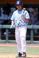 07 May 2016: North Carolina's Tyler Ramirez. The University of North Carolina Tar Heels played the University of Louisville Cardinals in an NCAA Division I Men's baseball game at Boshamer Stadium in Chapel Hill, North Carolina.