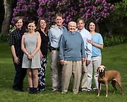 Photo by Mara Lavitt<br /> Old Saybrook, CT<br /> May 27, 2017<br /> The Frank Kokai family.