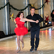 NLD/Utrecht/20121218 - Perspresentatie Sterren Dansen op het IJs 2013, Cristophe Haddad en schaatspartner Lauren