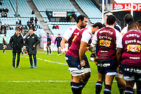 Raphael Ibanez / Laurent Marti / groupe Bordeaux Begles - 03.01.2015 - Racing Metro 92 / Bordeaux Begles - 15eme journee de Top 14 -<br />