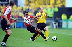 27-04-2008 VOETBAL: KNVB BEKERFINALE FEYENOORD - RODA JC: ROTTERDAM <br /> Feyenoord wint de KNVB beker - Denny Landzaat<br /> ©2008-WWW.FOTOHOOGENDOORN.NL