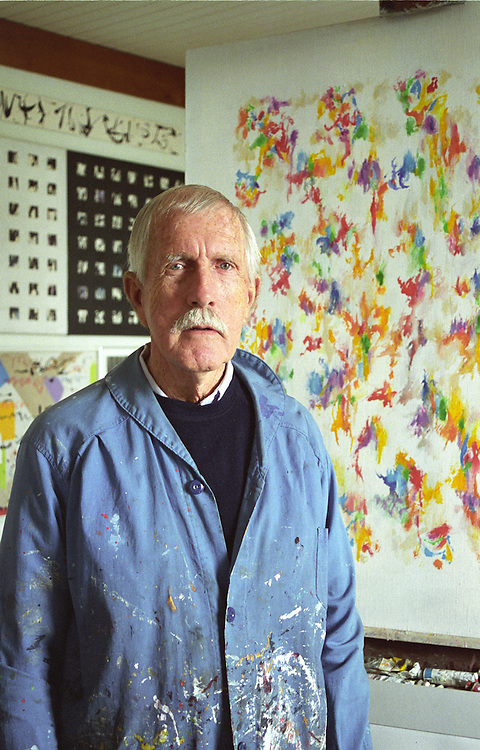 Jim Bertram, Local Artist, Mendocino California