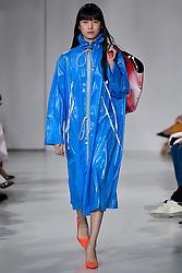 Model Kiko Arai walks on the runway during the Calvin Klein Fashion show at New York Fashion Week Spring Summer 2018 held in New York, NY on September 7, 2017. (Photo by Jonas Gustavsson/Sipa USA)