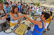 The annual Aspen Mac N Cheese Festival in Aspen, Colorado.
