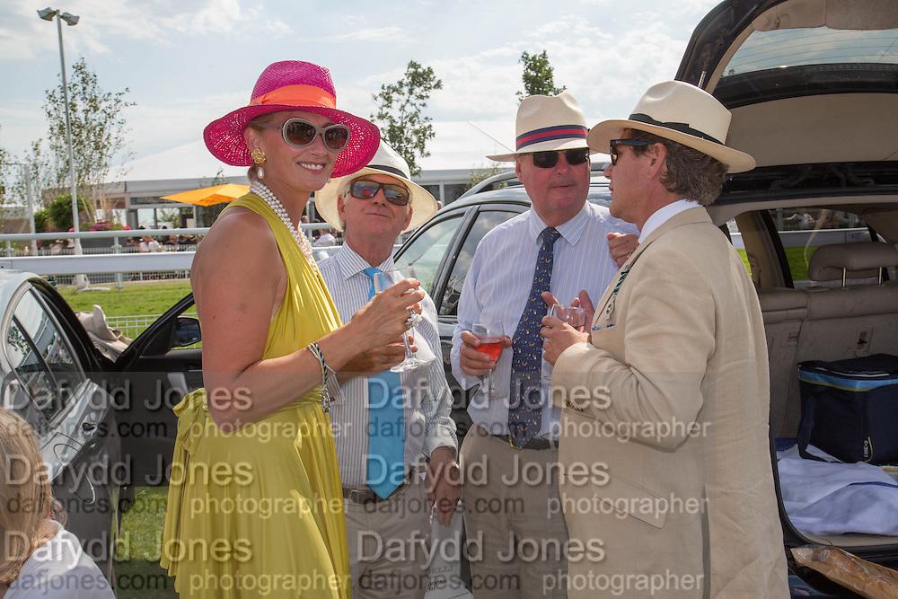 RUTH THOMPSON; MARTIN GRAY; DAVID LOWE, GILES THOMPSON, Glorious Goodwood. Thursday.  Sussex. 3 August 2013