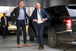 © Licensed to London News Pictures. 25/11/2018. London, UK. Former British Prime Minister TONY BLAIR arrives at BBC Broadcasting House to appear on The Andrew Marr Show. Photo credit: Ben Cawthra/LNP