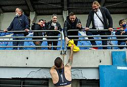 Vanja Drkusic of Bravo after the football match between NK Domzale and NK Aluminij in 36th Round of Prva liga Telekom Slovenije 2020/21, on May 22, 2021 in Sportni park Domzale, Slovenia. Photo by Vid Ponikvar / Sportida